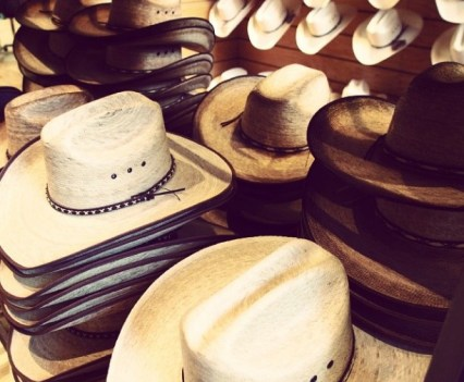 Cowboy Hats in Cheyenne, Wyoming