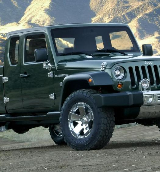 Jeep Gladiator concept front left view