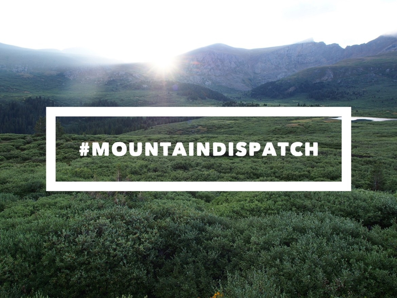 Basin and Range Mountain Dispatch Mt Bierstadt