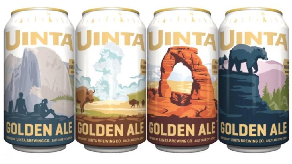 Uinta Brewing Park Series Golden Ale
