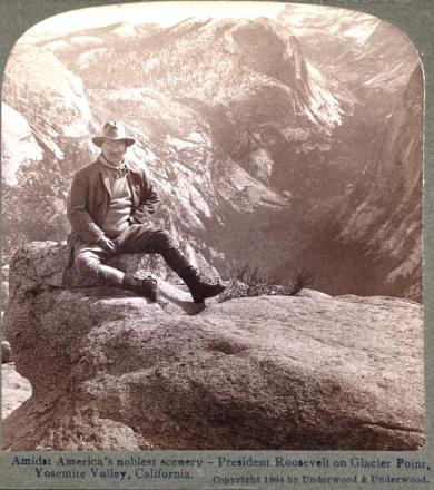 Teddy Roosevelt in Yosemite