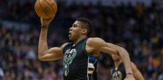 Giannis Antetokounmpo records first career triple-double in win over Lakers