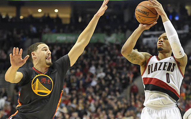 Damian Lillard sets new career high in rout of Warriors