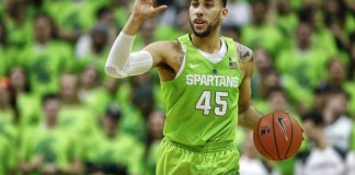 Denzel Valentine will look to showcase himself as potential lottery pick as the season winds down
