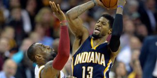 Paul George scores 23, but isn't enough to overtake King James & the Cavs