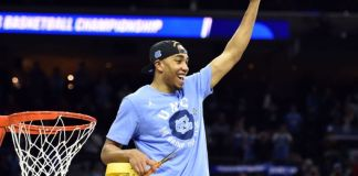 Brice Johnson looks to lead the UNC Tar Heels to the National Championship game past Syracuse.