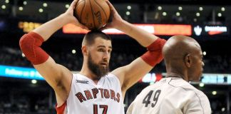 Jonas Valanciunas likely to miss the first two games against the Cavaliers