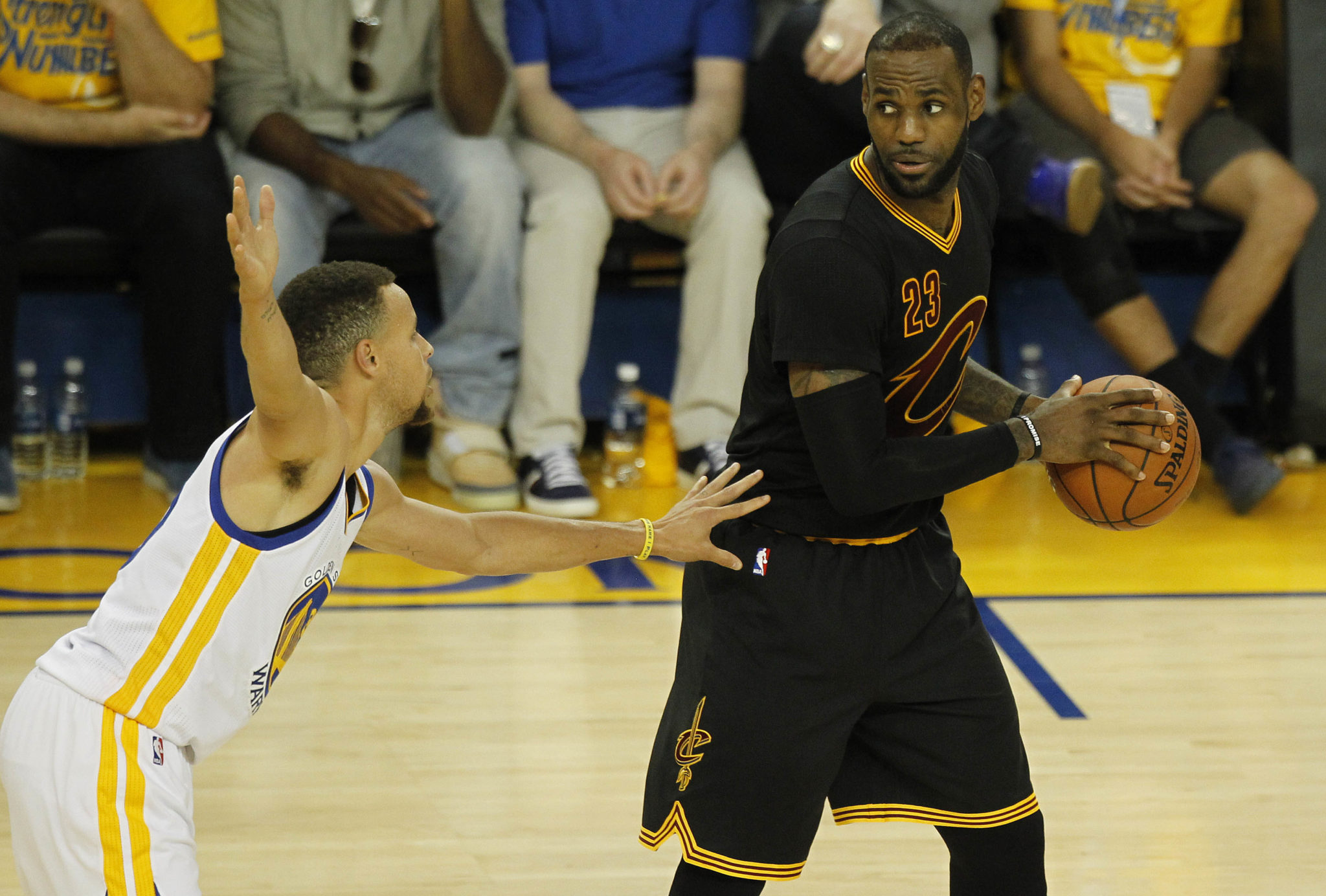 3630cef8e551 LeBron James  It s  Foolish  To Predict Finals Matchup Against Warriors