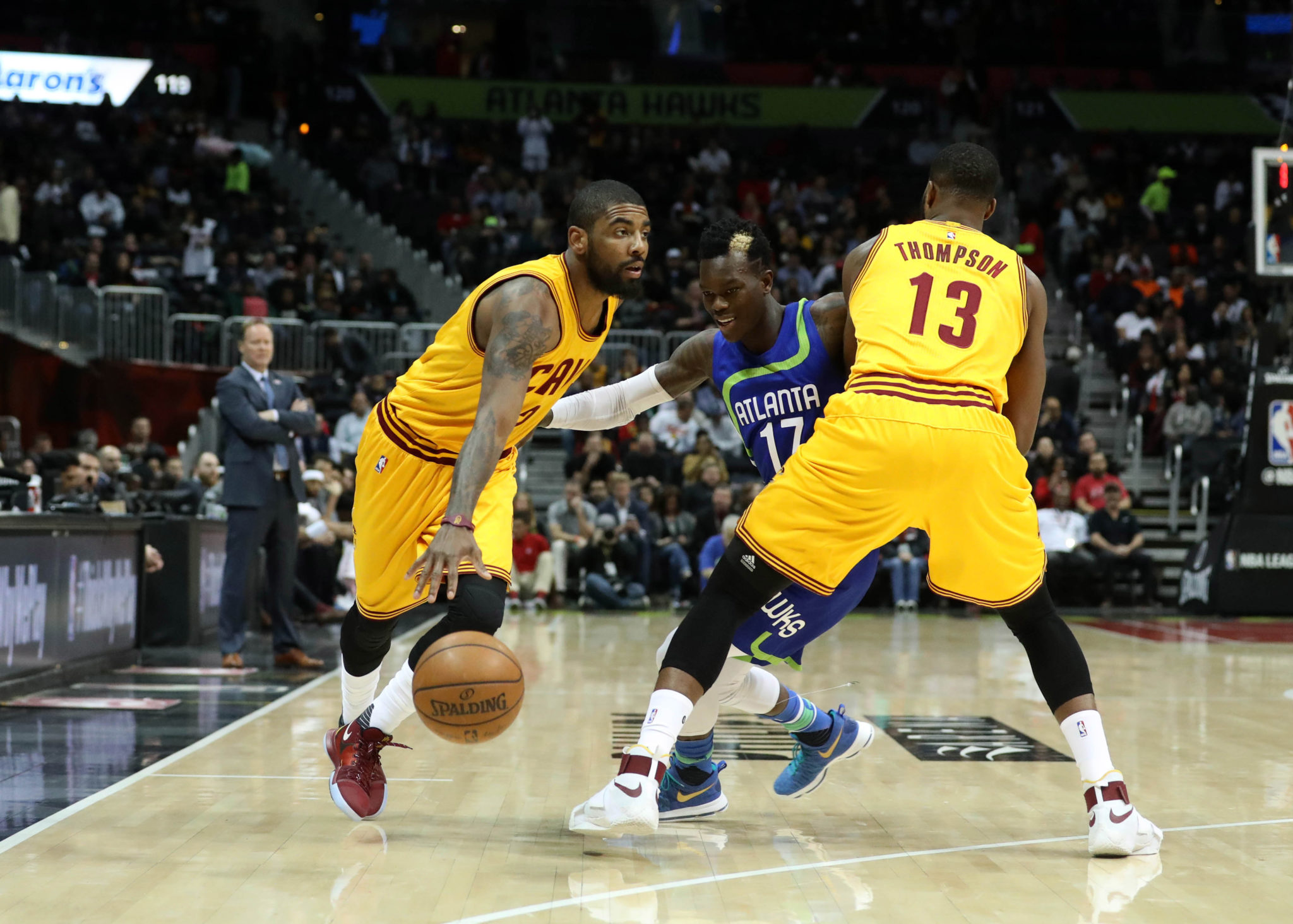 Cavs make NBA-record 25 3-points in win over Hawks