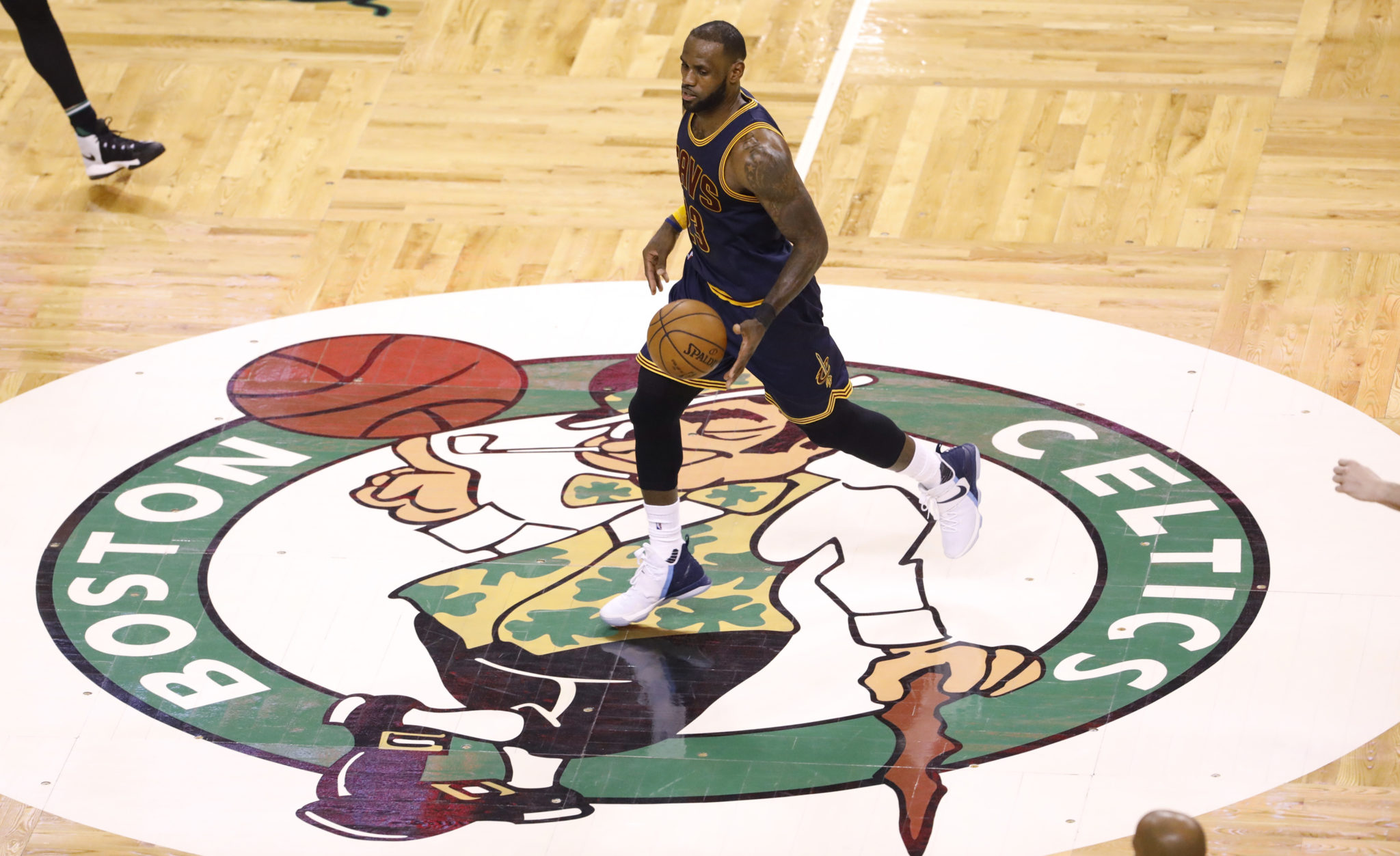 Image result for lebron james celtics td garden