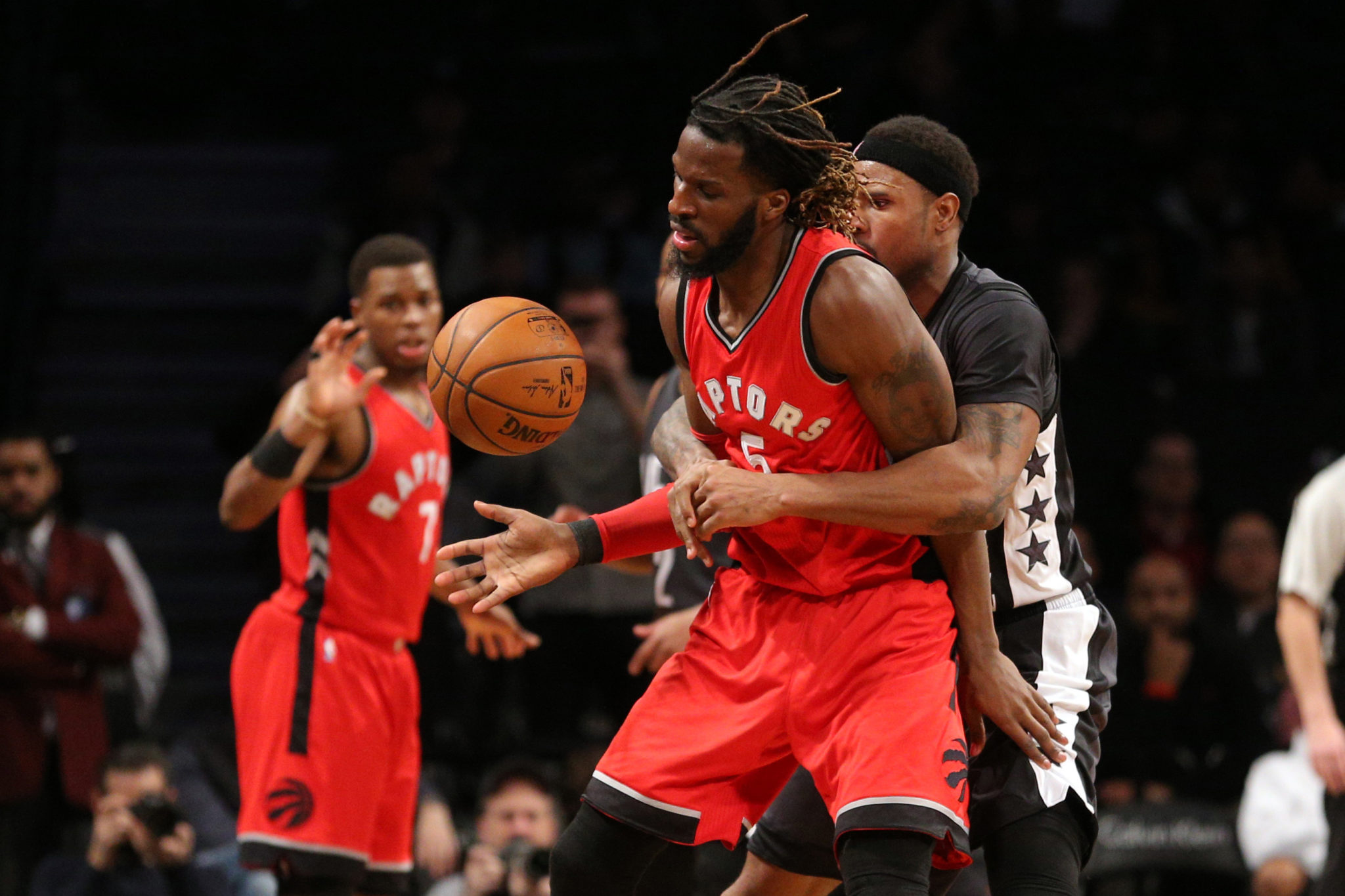 Raptors' Carroll traded to Nets