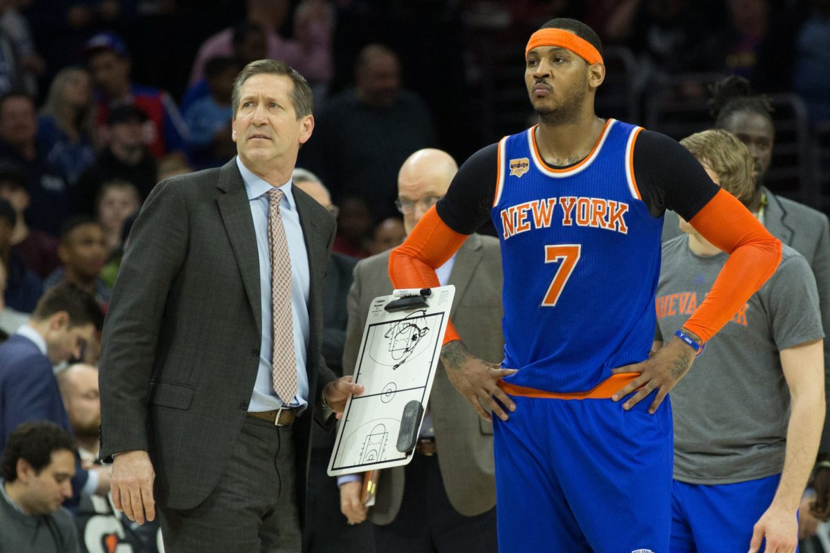 The Knicks Are Finally Moving Away From Triangle Offense