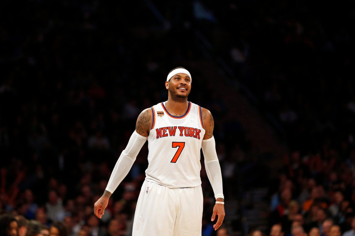 Don't Be Shocked Carmelo Anthony Is Omitted From Knicks Future