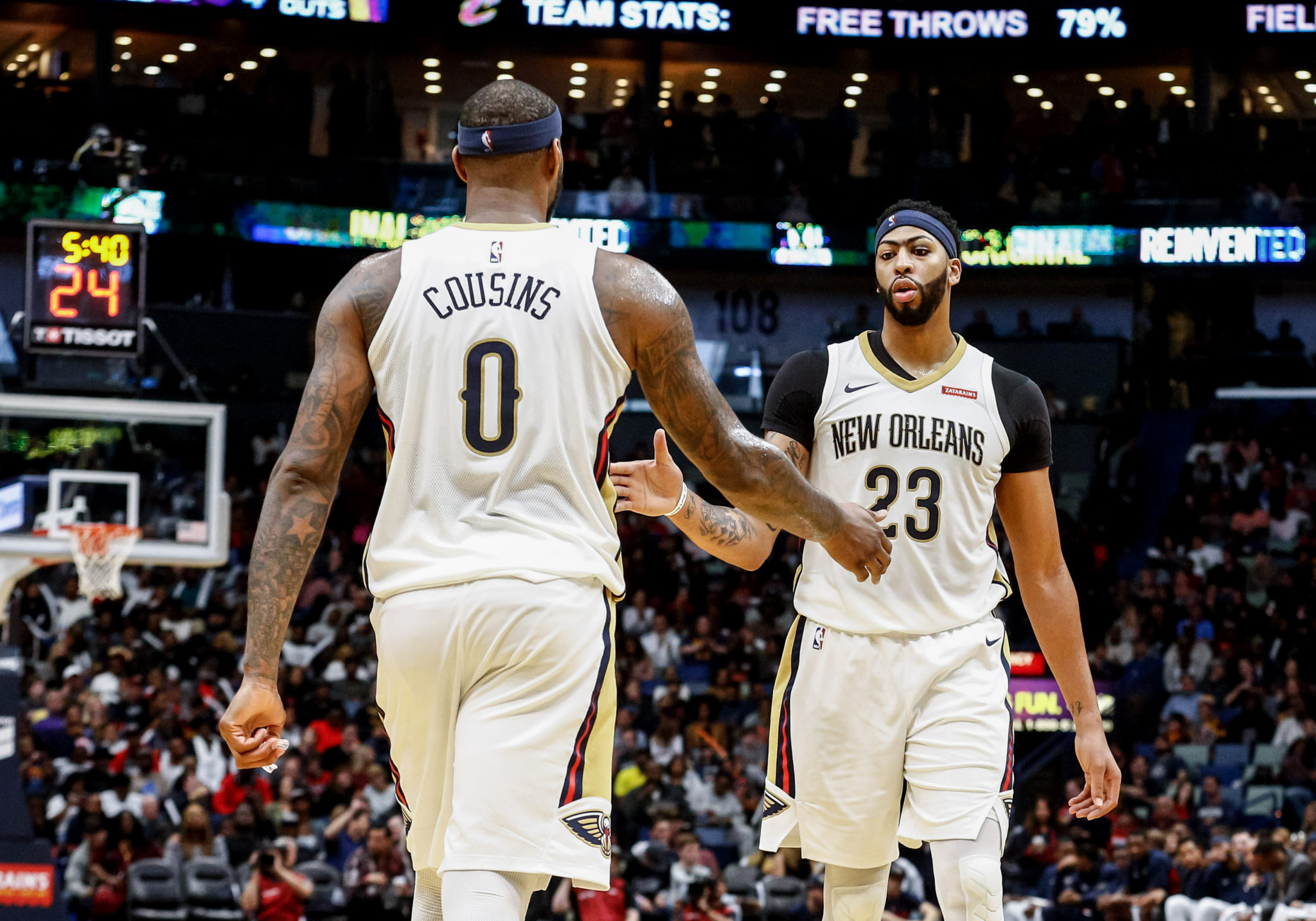 Anthony Davis likely to play against Cavaliers