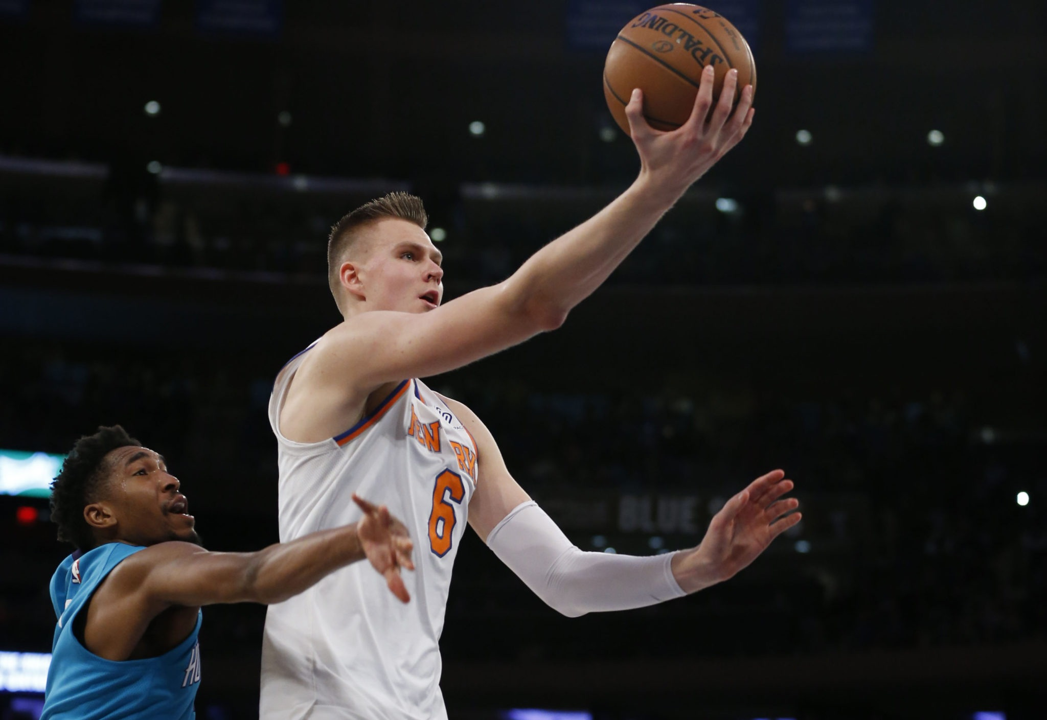 752652893 Kristaps Porzingis  Scoring Record  Means Nothing  Without Playoffs