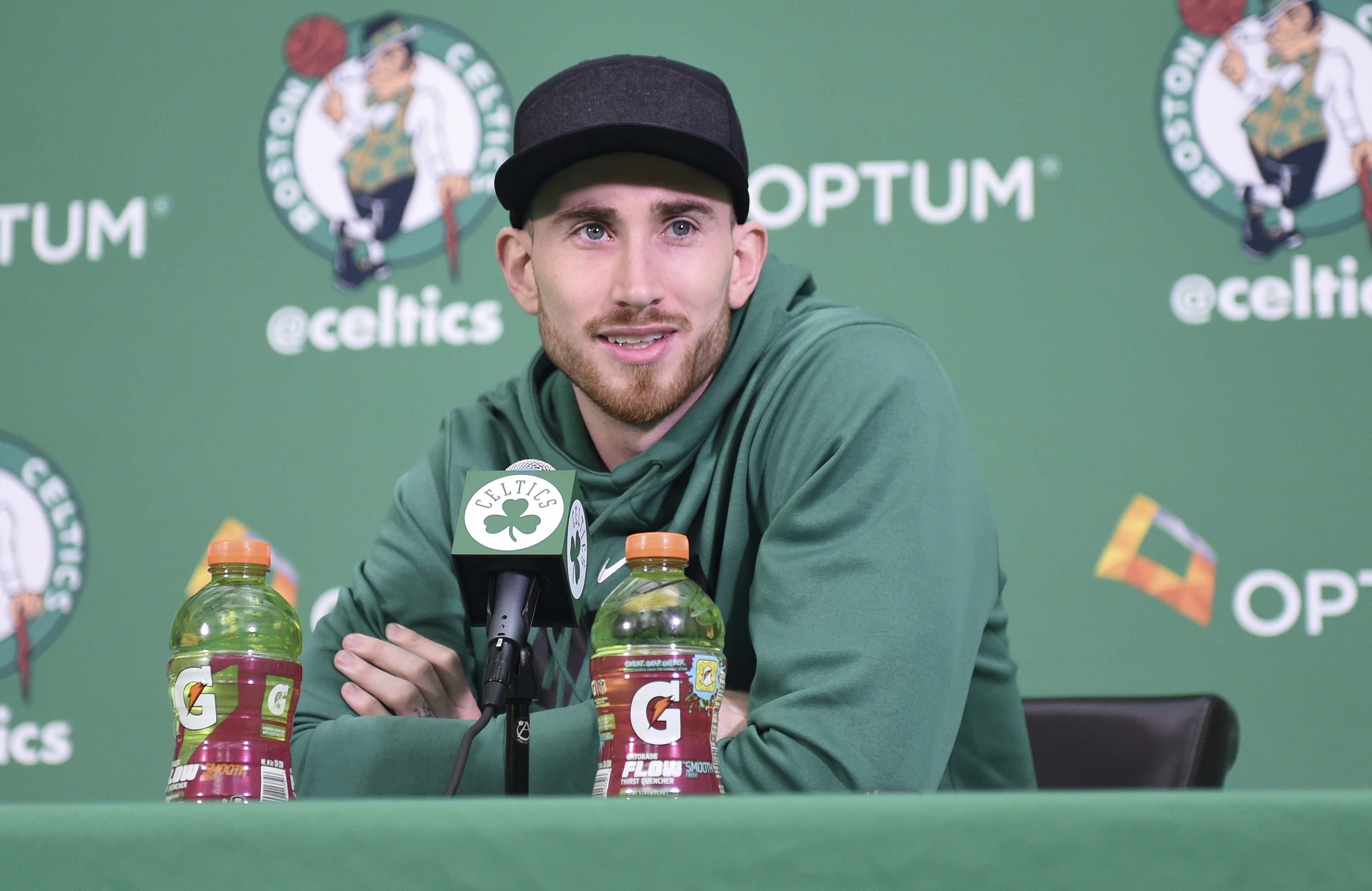 Gordon Hayward is about two weeks from removing walking boot