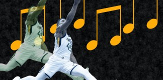 The 41-point outing Donovan Mitchell on Dec. 1 has turned his entire season around, and the Utah Jazz's rookie has become a sensation. Mandatory Credit: USATSI / TBN Media Illustration