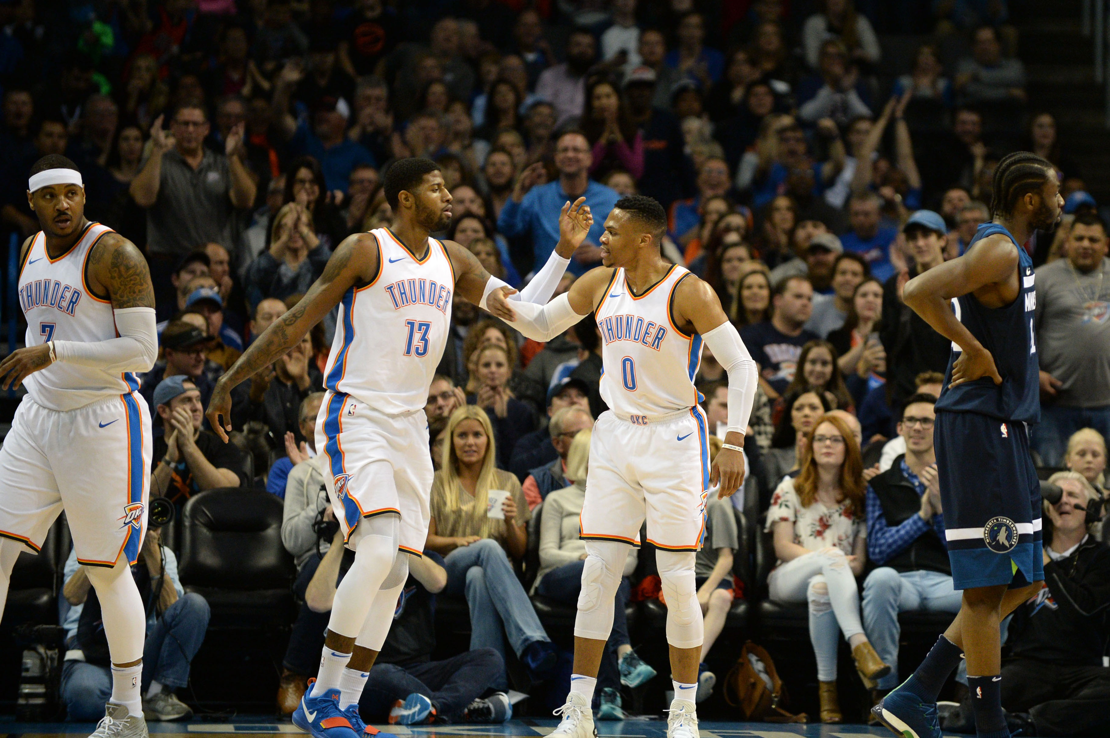 Not 'Championship or Bust' in OKC — Paul George