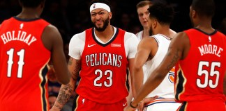 NBA: New Orleans Pelicans, Anthony Davis, New York Knicks
