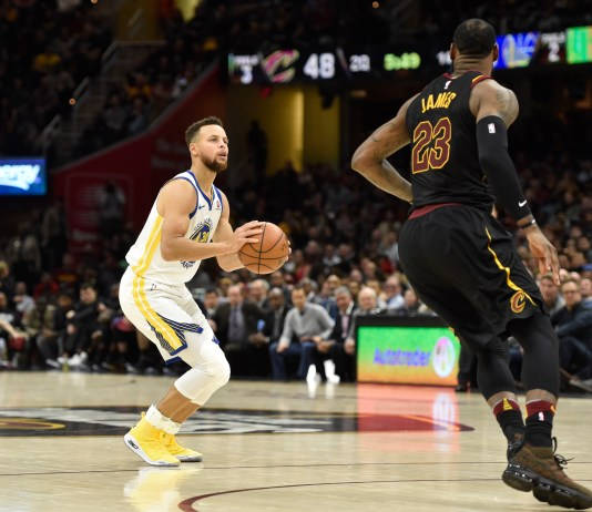 NBA: Golden State Warriors, Cleveland Cavaliers, LeBron James, Stephen Curry