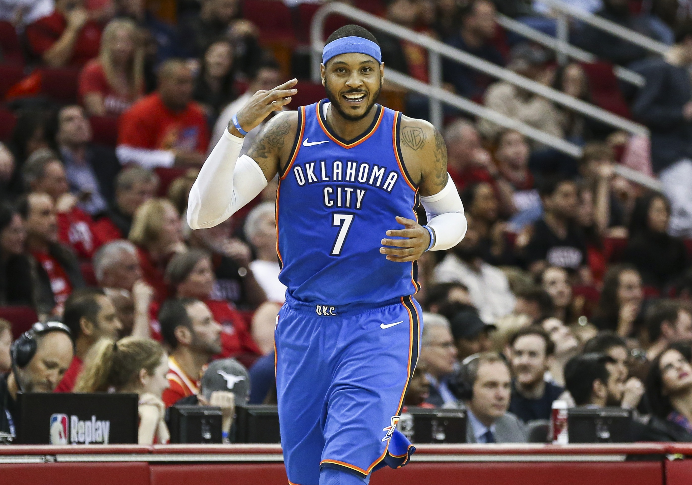 71a2363519a3 Houston Rockets Intend To Bring Carmelo Anthony Off The Bench