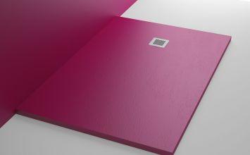 Platos de ducha de colores, perfectos para darle vida a tu baño