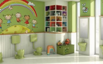 Tips para crear el baño para niños perfecto