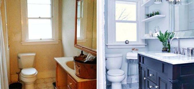 reformas de baño antes y después