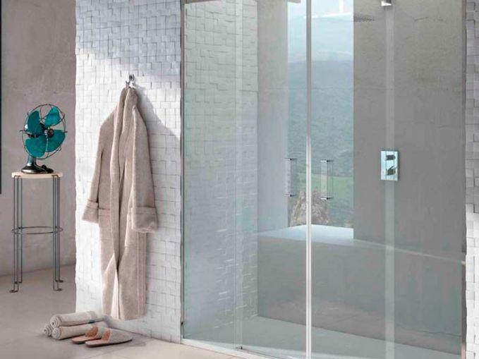 Mampara para baño actual