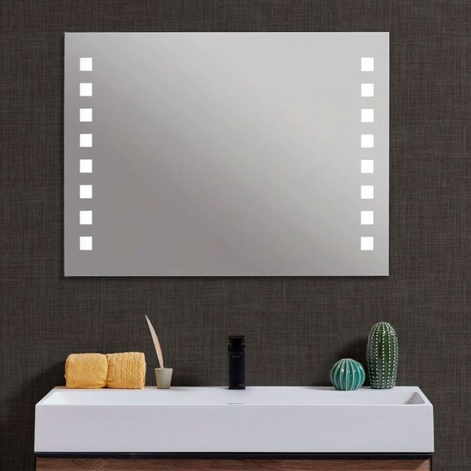 Espejo para baño antivaho corvus