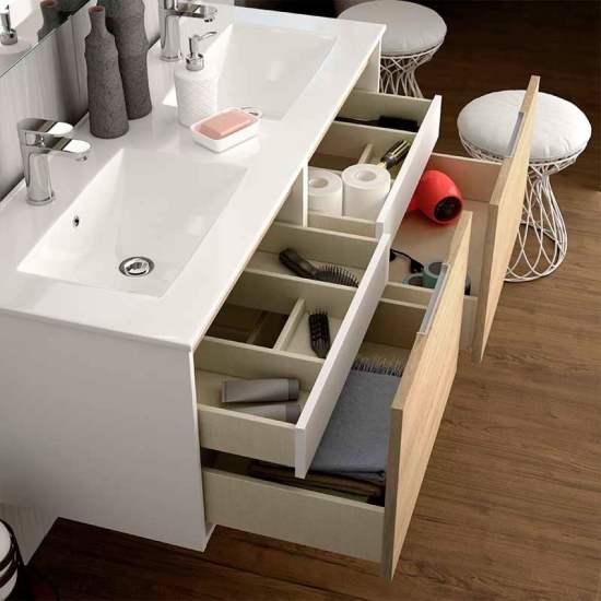 Tiradores de muebles de baño tipo uñeros