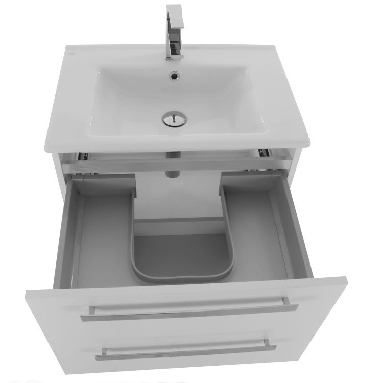 24 inch vanity cabinet with fitted sink