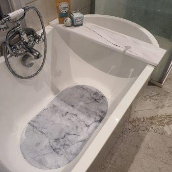 Marble Bath Matt