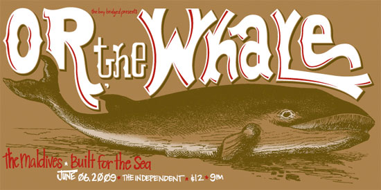 The Bay Bridged Presents: Or, the Whale
