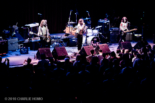 The SHE'S, Fillmore 10/15/10