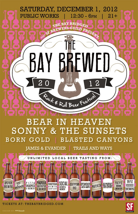 The Bay Brewed 2012 poster