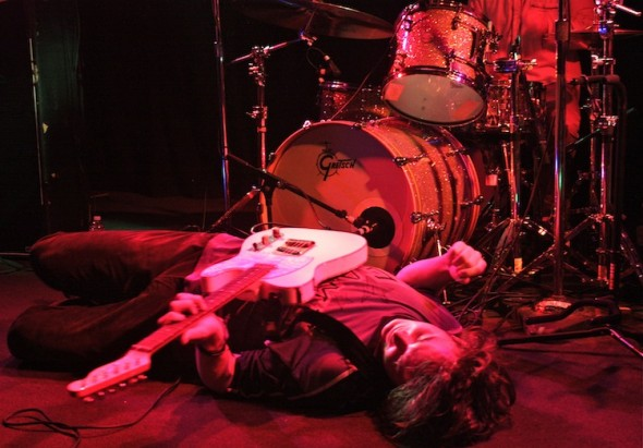 Palma Violets @ The Independent 4/23/13 - photo by Katie Kopacz