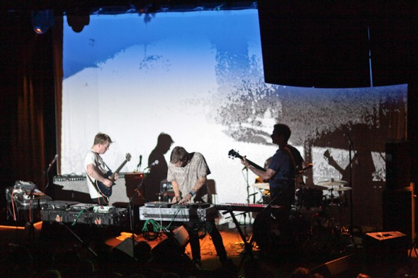 Mount Kimbie 6/17/13 @ The Independent - photo by Nicole L. Browner