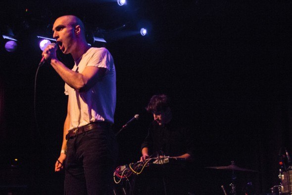 Majical Cloudz at The Independent 3-11-13 - photo by Zack Frederick