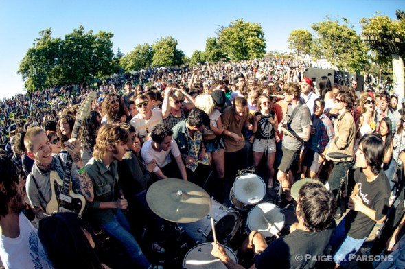Thee Oh Sees at Phono Del Sol 2013 - photo by Paige K. Parsons
