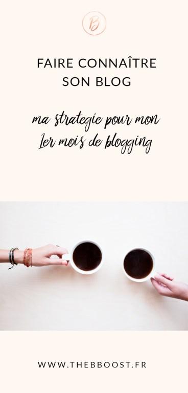 Comment faire connaître son blog quand on vient tout juste de le lancer ? Mes pistes (et résultats) par ici ! www.thebboost.fr #entreprendre #freelance #autoentrepreneur #blogging