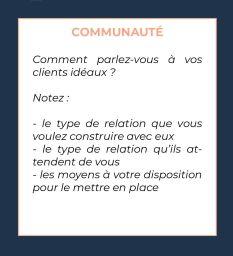 communauté et clients
