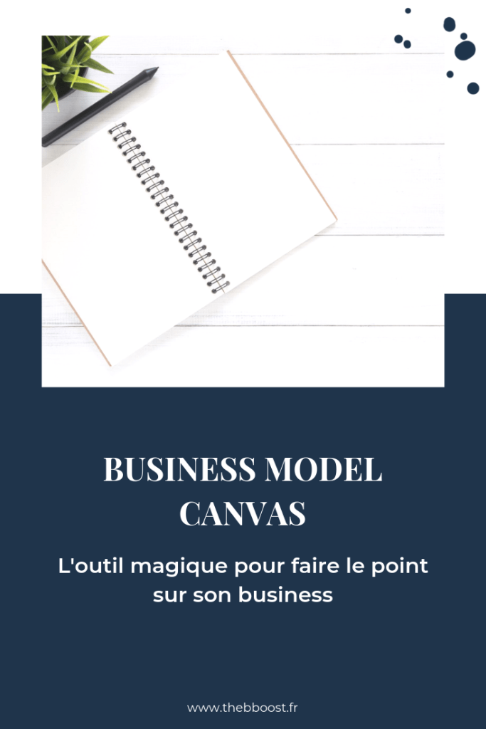 Le business model canvas, l'outil magique pour faire le point sur son business et clarifier ses projets. Un article #business du blog www.thebboost.fr