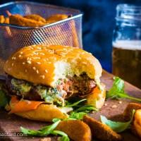 Turkish Lamb burger - perfect burger?
