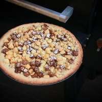 Perencake met peperkoek - Traeger baked Pear Cake