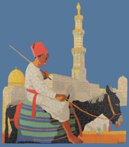 """Walker & Holtzapffel's """"Egyptian Donkey Boy"""""""