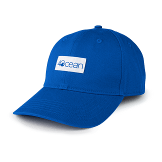 4ocean Low Profile Hat - Logo Patch