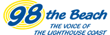 98 The Beach Logo