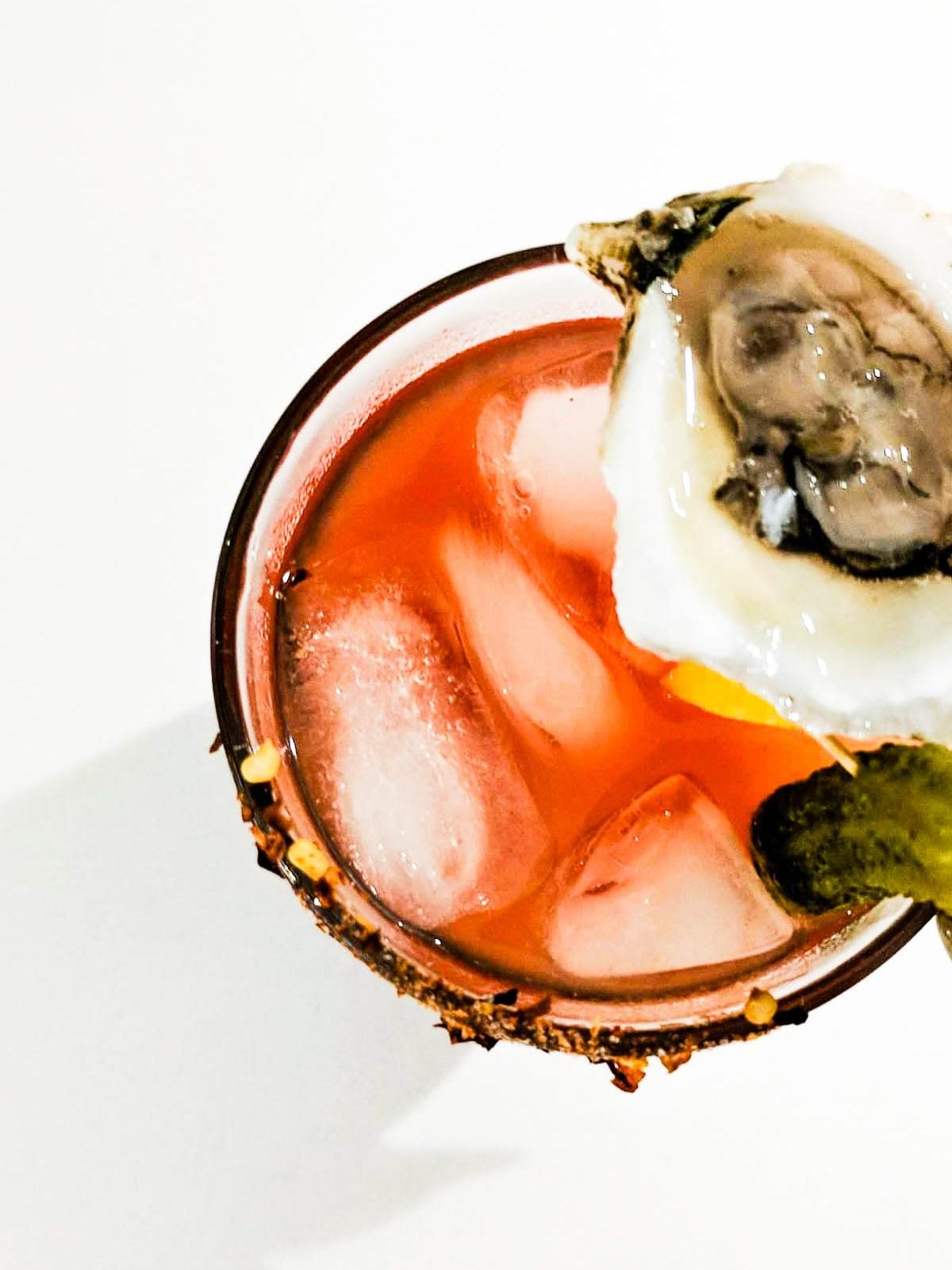 Classy Oyster Gin Caesar