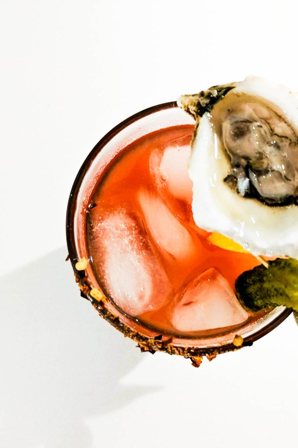 Whether it's Friday/Saturday night or Sunday morning brunch, this Classy Oyster Gin Caesar is just what the doc ordered. - thebeaderchef.com